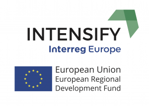 Logo for Intensify Interreg Europe